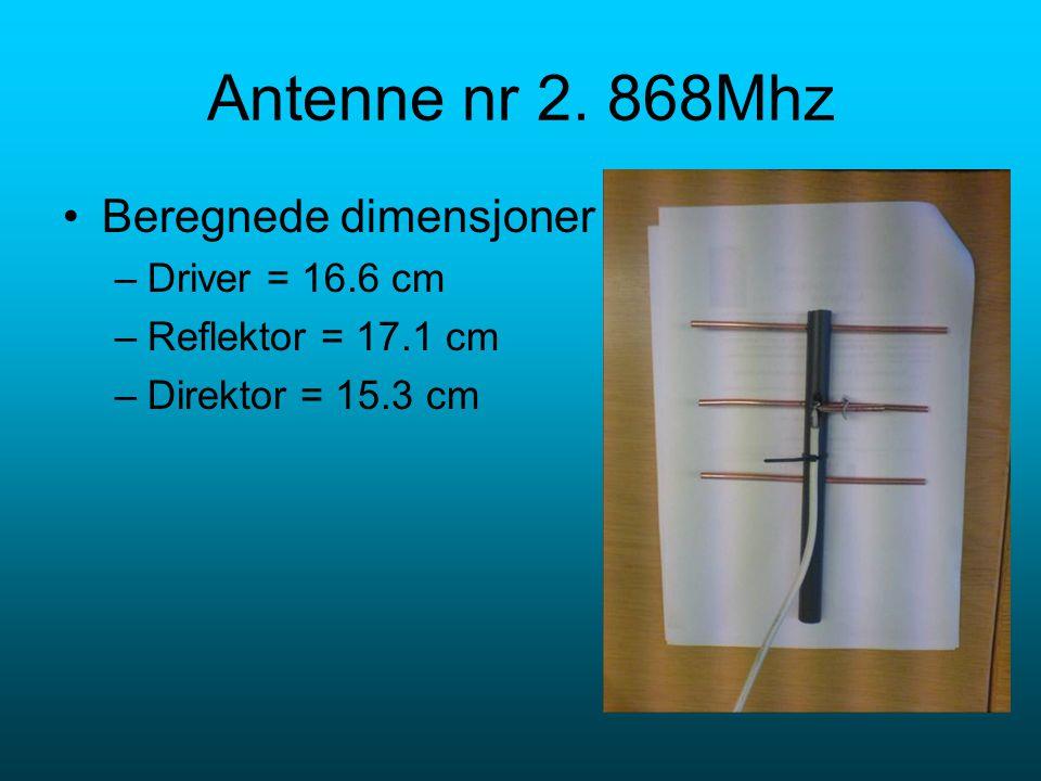 Antenne nr 2.