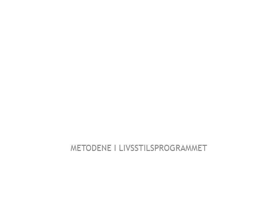 METODENE I LIVSSTILSPROGRAMMET