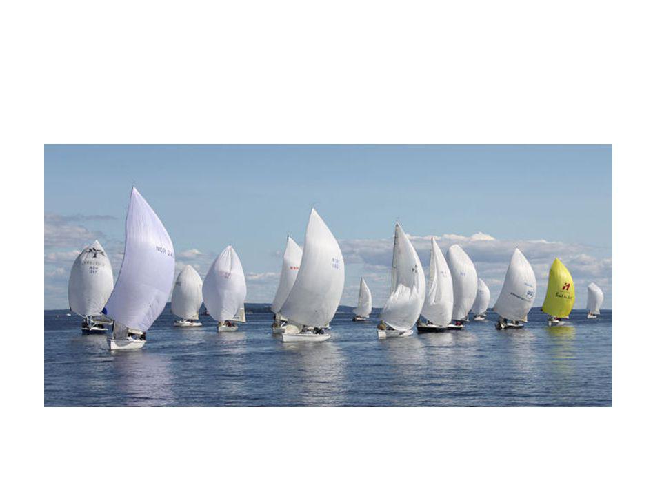 Merkerunding i en Swan regatta…..