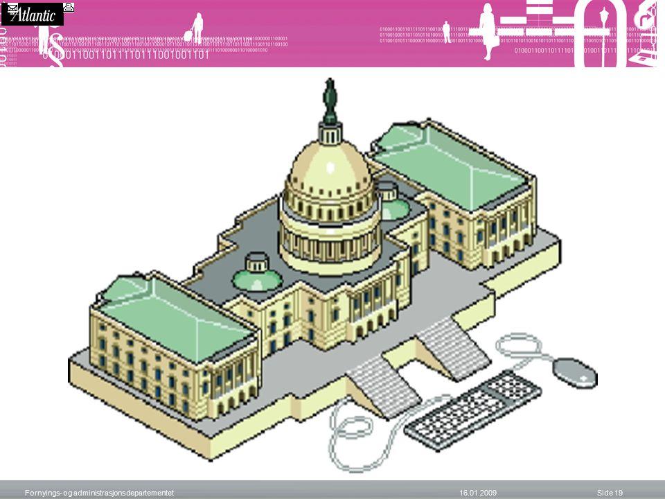 Fornyings- og administrasjonsdepartementet 16.01.2009 Side 19 iGov Articl e Tools spons ored by: iGov Article Tools Tools sponsored by: