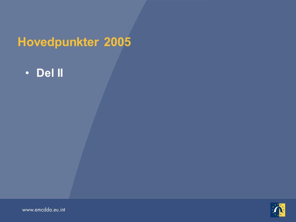 Hovedpunkter 2005 Del II