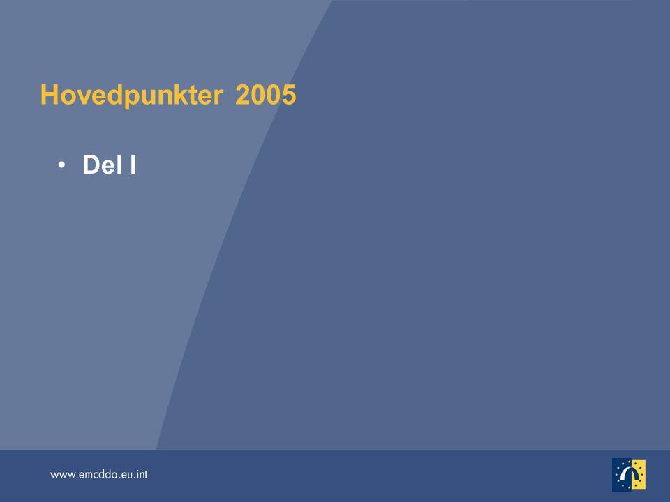 Hovedpunkter 2005 Del I