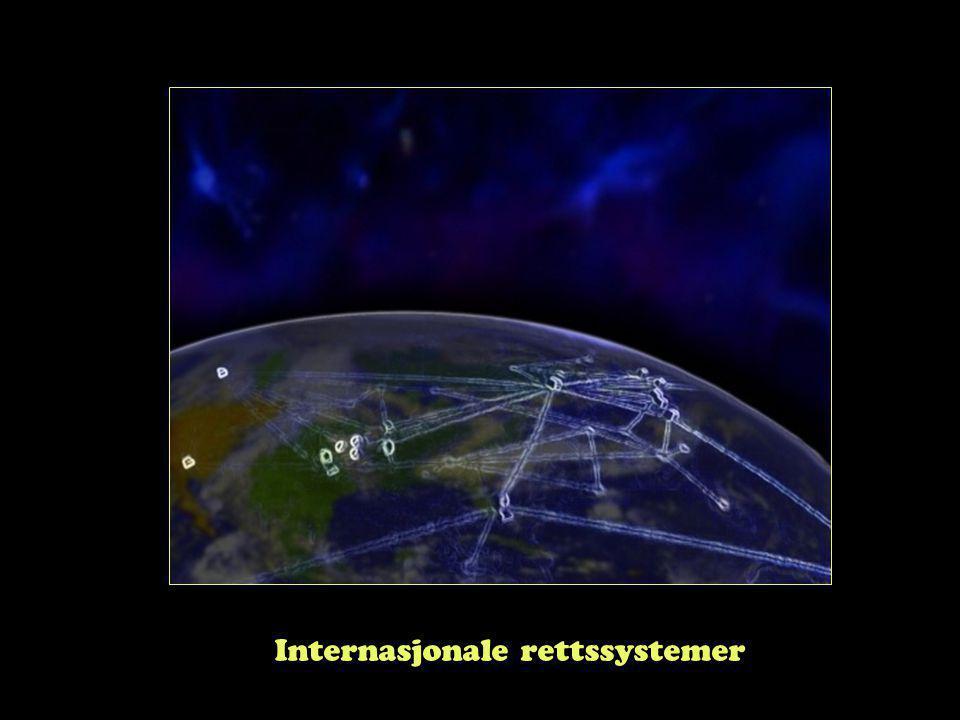 Internasjonale rettssystemer