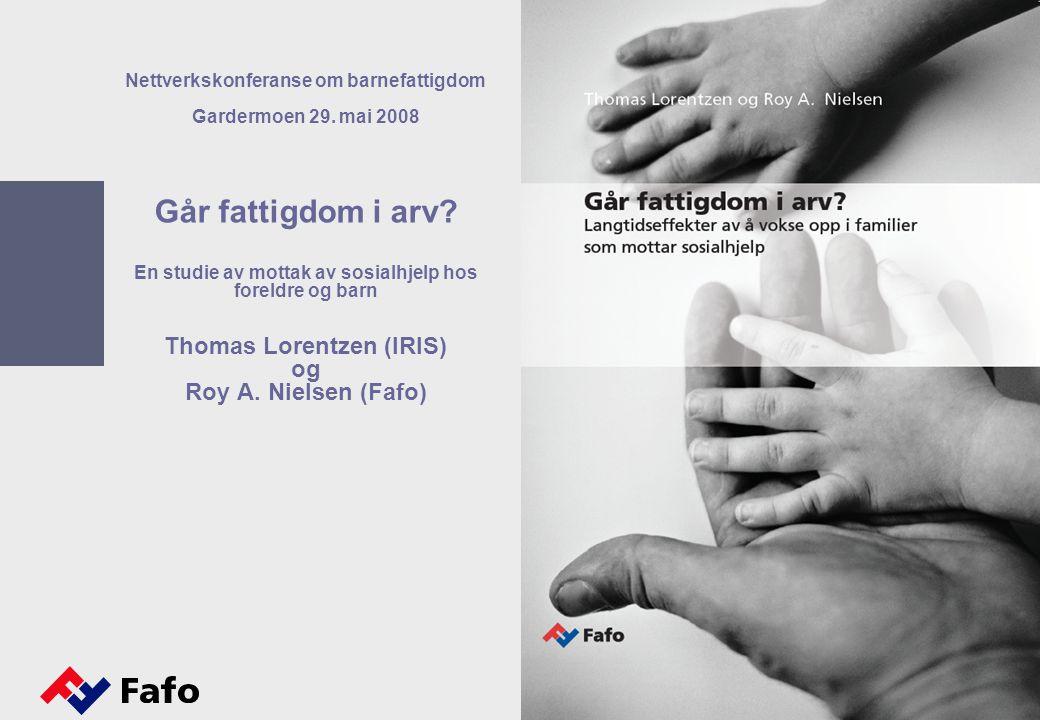 1 Nettverkskonferanse om barnefattigdom Gardermoen 29.