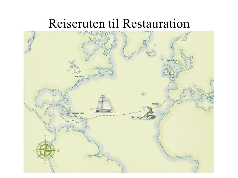 Reiseruten til Restauration