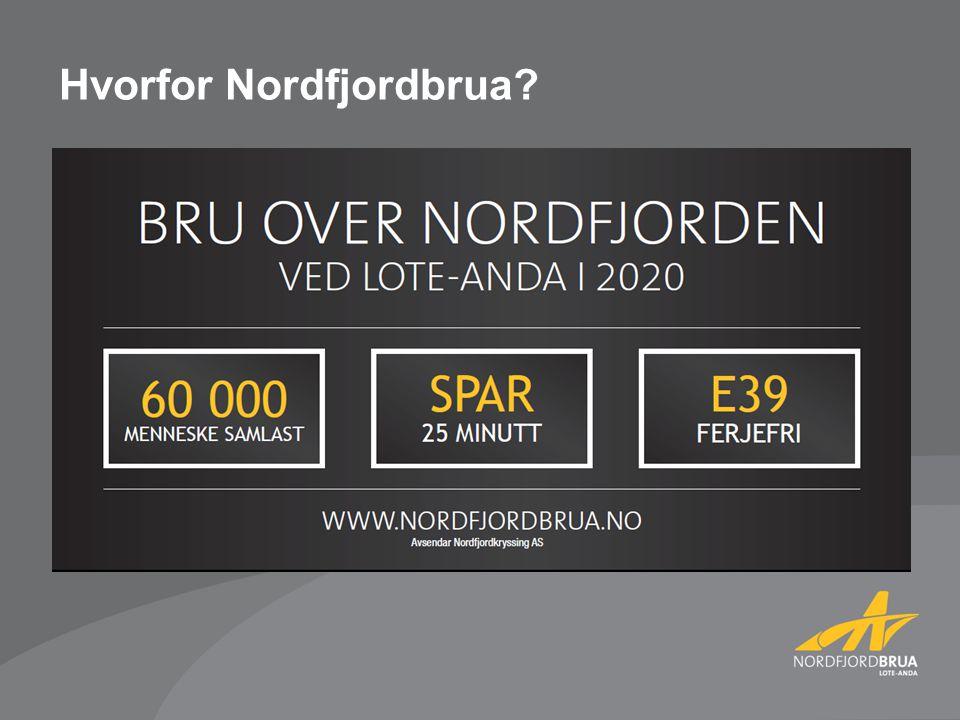 Hvorfor Nordfjordbrua?