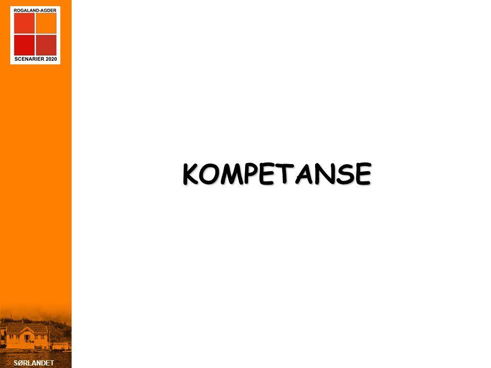 SØRLANDET KOMPETANSE