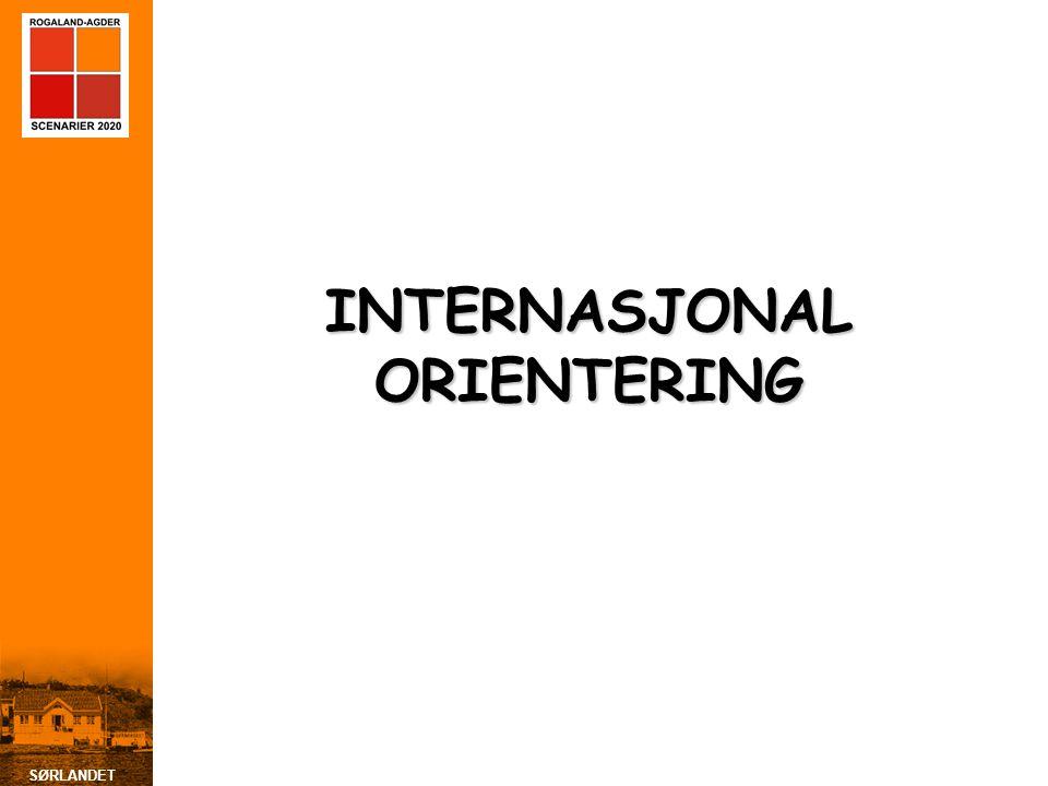 SØRLANDET INTERNASJONAL ORIENTERING