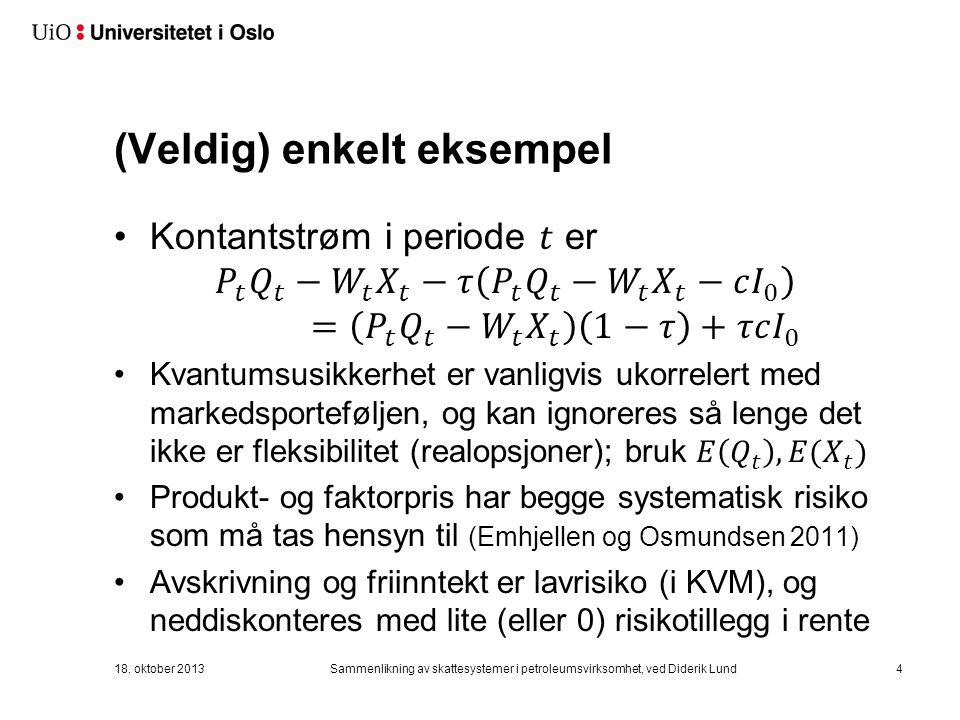 (Veldig) enkelt eksempel 18.