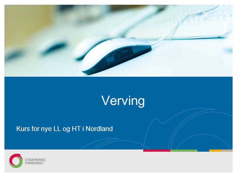 Verving Kurs for nye LL og HT i Nordland