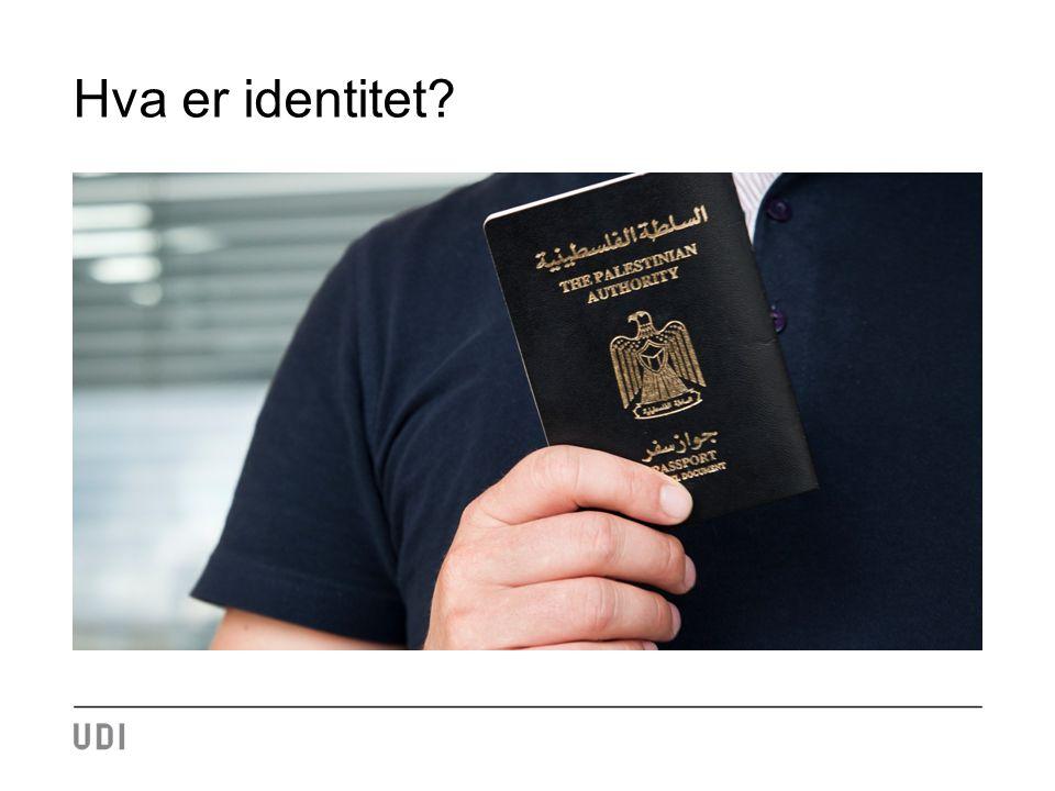 Hva er identitet?