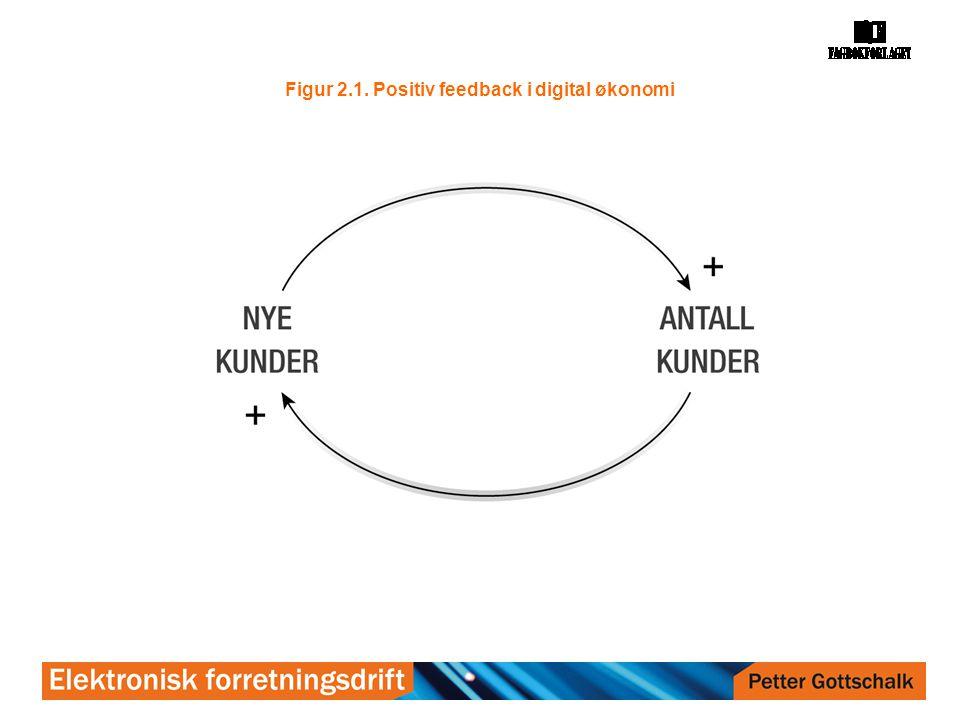 Figur 2.1. Positiv feedback i digital økonomi