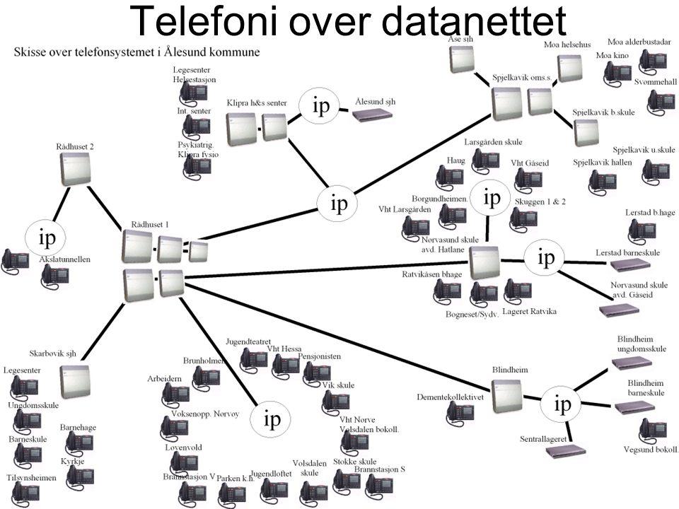 Telefoni over datanettet
