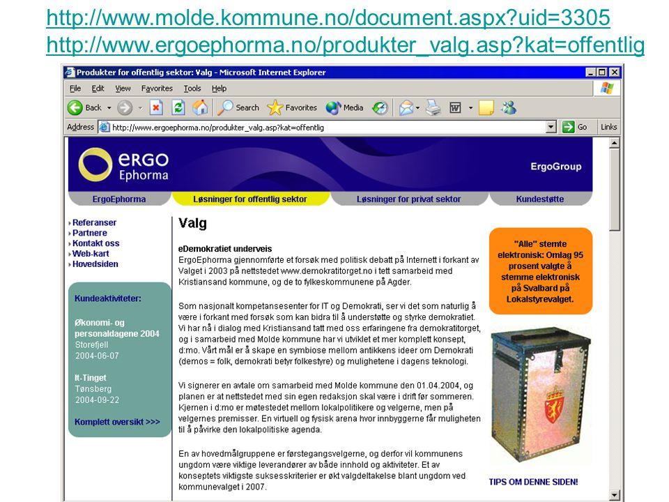 http://www.molde.kommune.no/document.aspx?uid=3305 http://www.ergoephorma.no/produkter_valg.asp?kat=offentlig