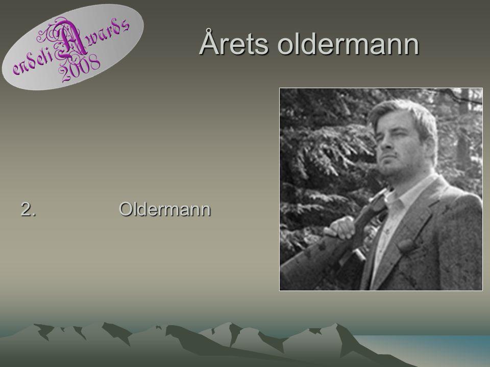 Årets oldermann 2. Oldermann