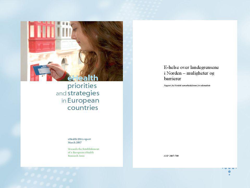 Island Nasjonal strategi for bruk av informasjonsteknologi offentlig virksomhet Informasjonssikkerhet og beskyttelse av personvernet skal være ledende prinsipper Ehelse er regulert av helse- og personvernlovgivningen –Ingen spesifikk lovgivning for helseinformatikk DeCode