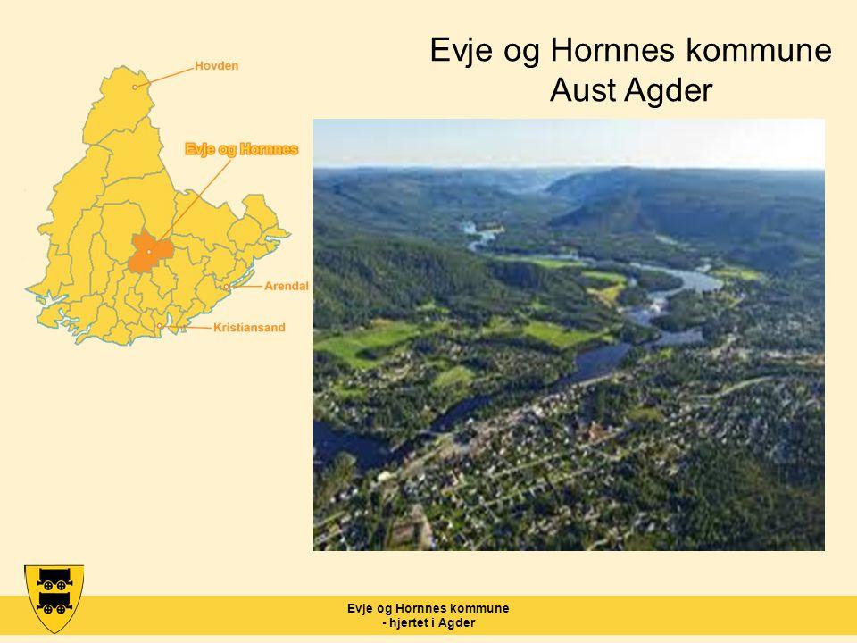 Evje og Hornnes kommune - hjertet i Agder Evje og Hornnes kommune Aust Agder