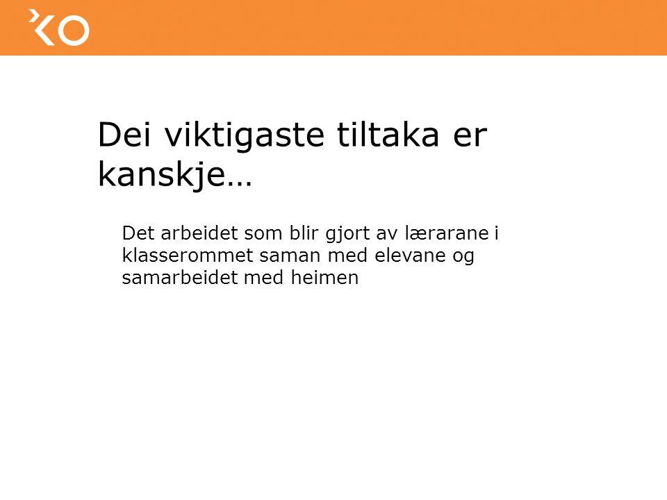 Samarbeidsgruppe 13 årig skuleløp Kommune Ungdomsskule Vidaregåande skule PPT Karrieresenteret