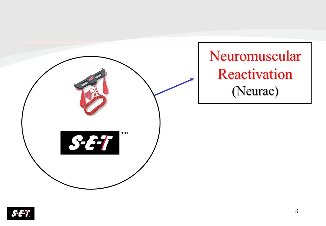 6 Neuromuscular Reactivation (Neurac) ™