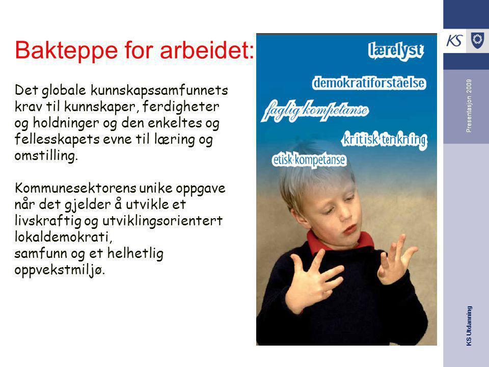 KS Utdanning Presentasjon 2009