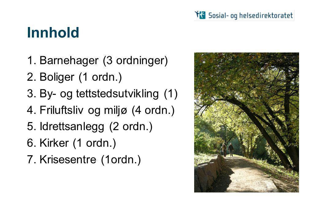 Innhold 8.Kulturbygg og -arenaer (2) 9. Kulturminnetiltak (1 ordn.) 10.