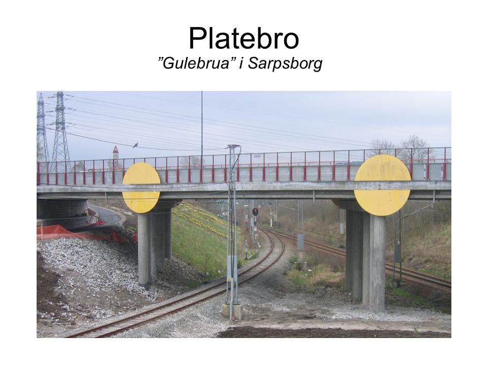Gammel buebro Fra Gatedalen ved RV111 i Sarpsborg
