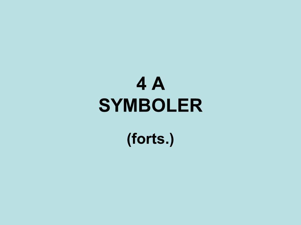 4 A SYMBOLER (forts.)