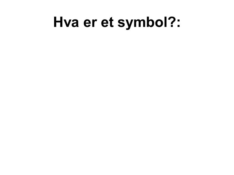 Hva er et symbol?:
