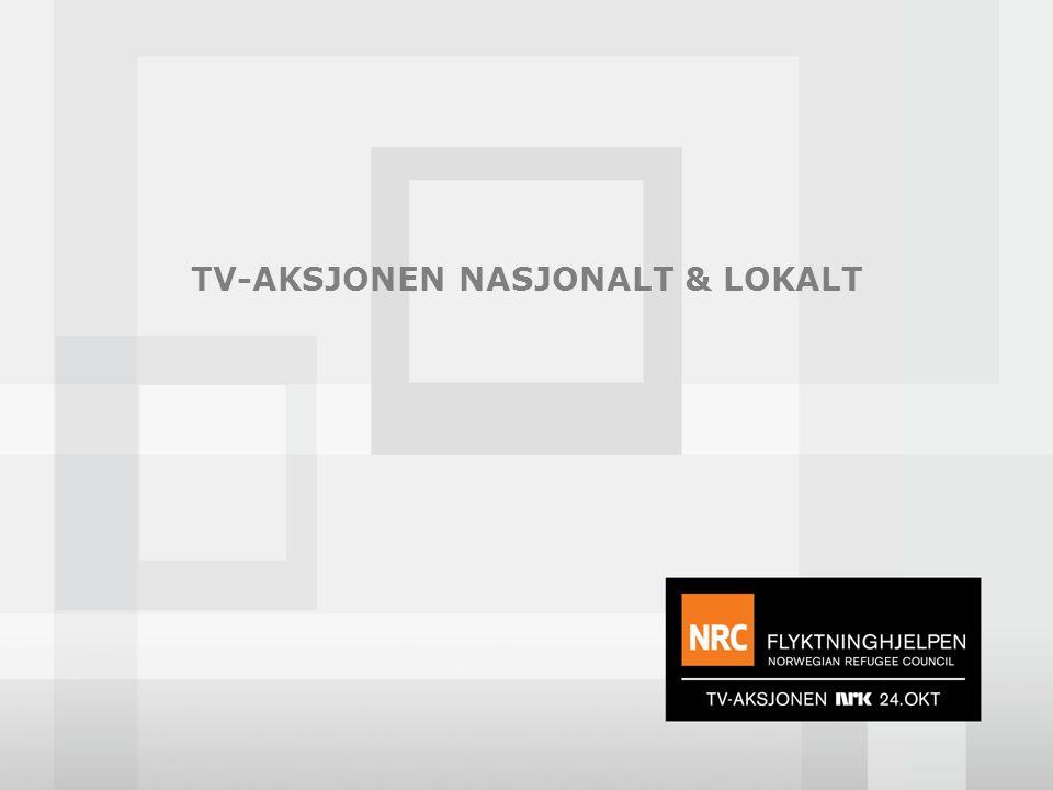 TV-AKSJONEN NASJONALT & LOKALT