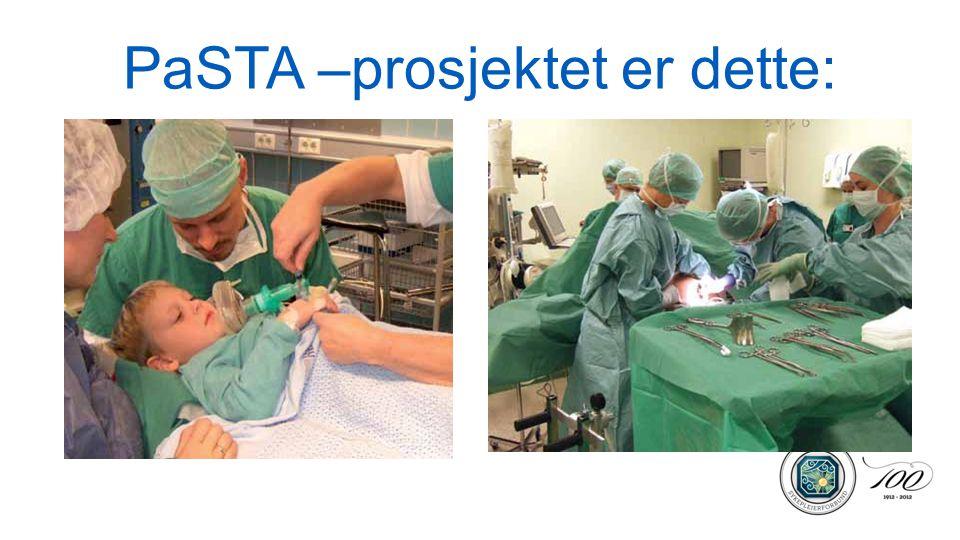 PaSTA –prosjektet er dette: