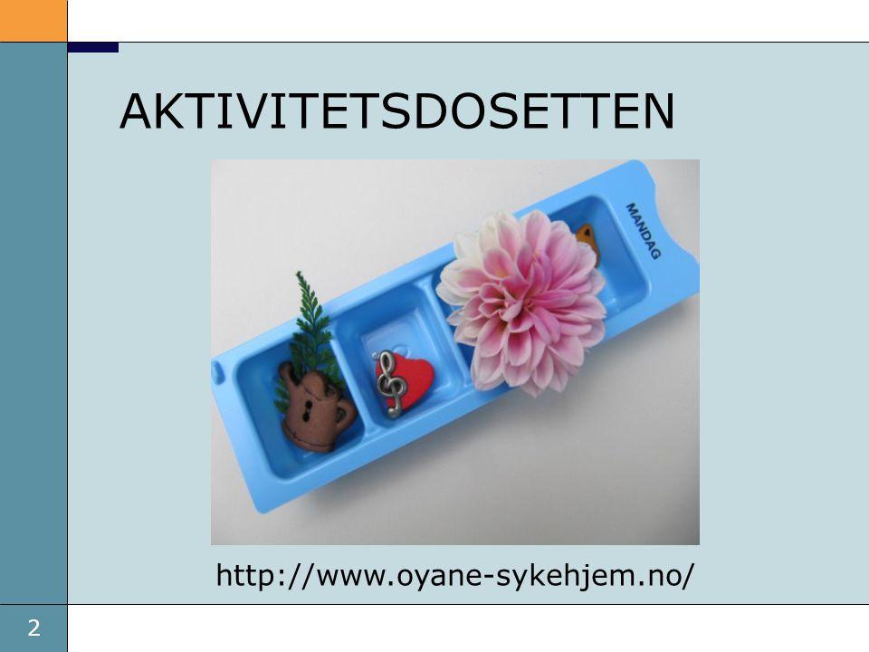 2 AKTIVITETSDOSETTEN http://www.oyane-sykehjem.no/
