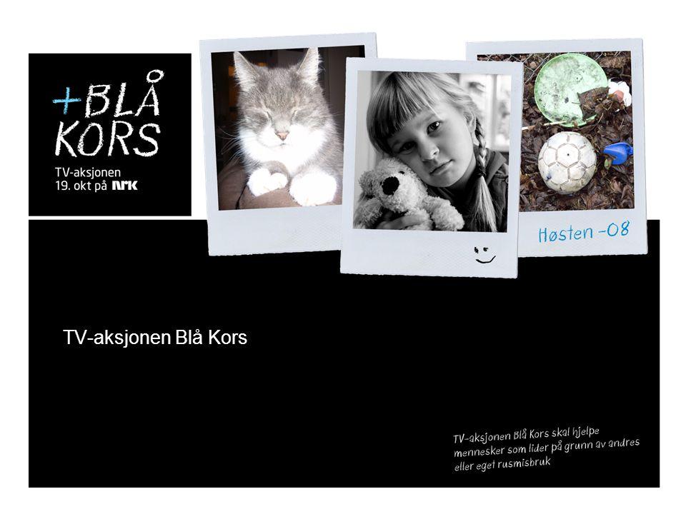 TV-aksjonen Blå Kors 06.07.2014 Dagens virkelighet – et bilde… En ulykke rapporteres.