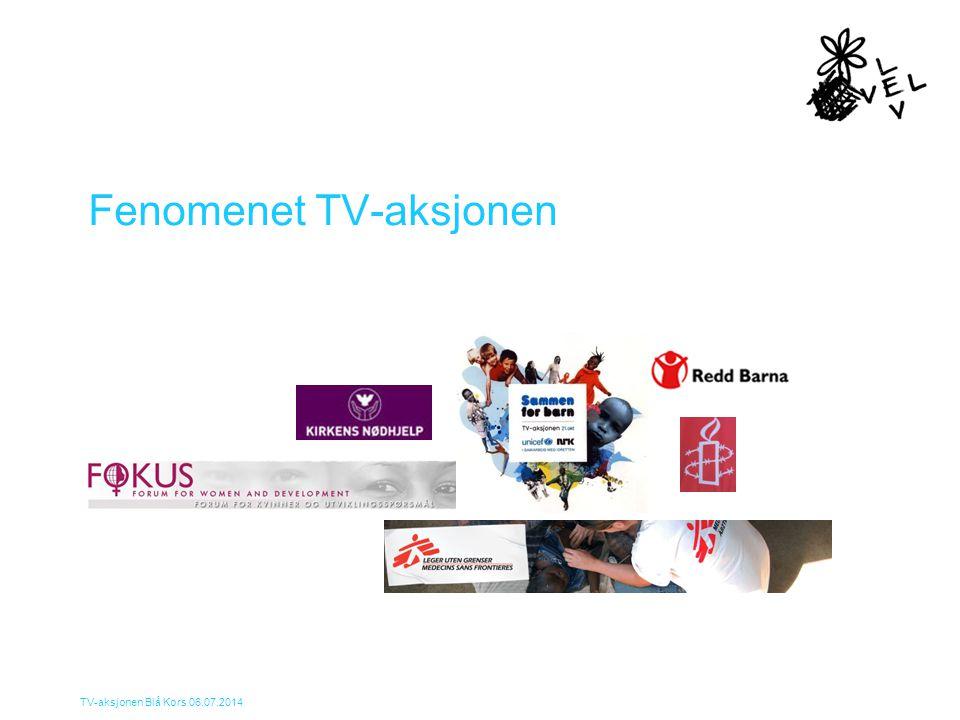 TV-aksjonen Blå Kors 06.07.2014 TV-aksjonsprosjekter i Norge