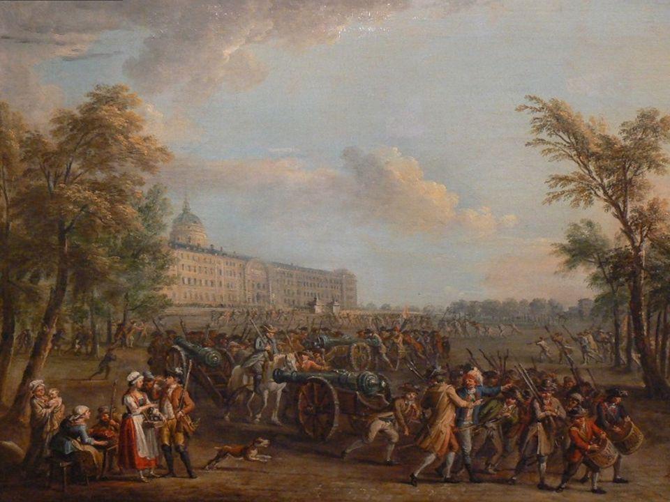 For å skaffe ammunisjon angrep opprørerne Bastillen.