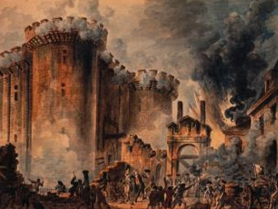 Etter en kort kamp overga soldatene på bastillen seg.