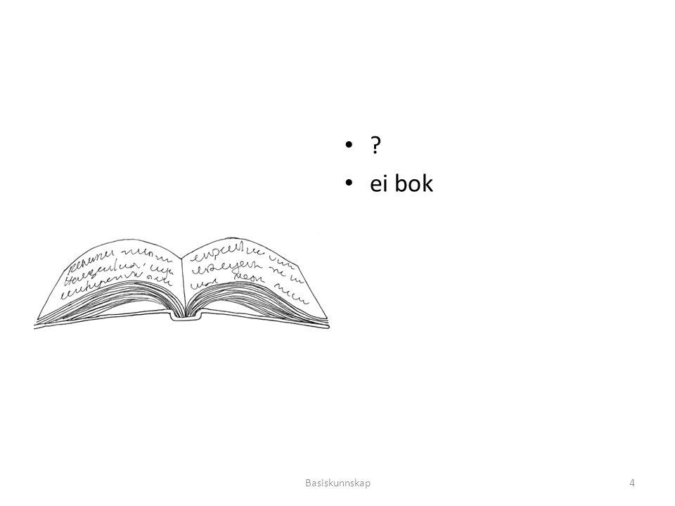 ? ei bok Basiskunnskap4