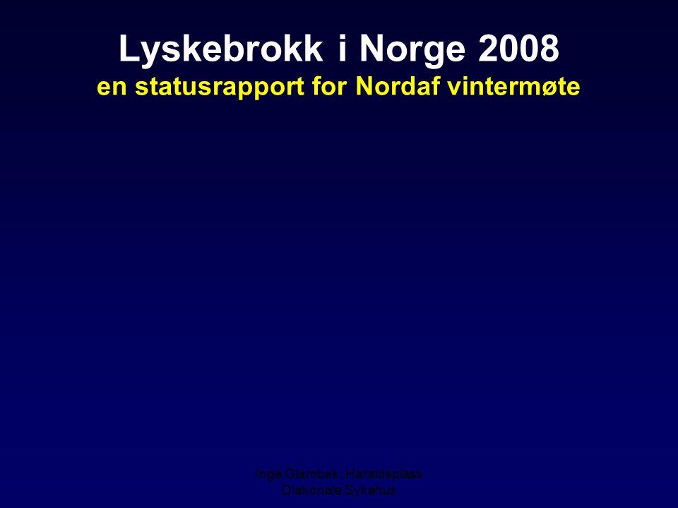 Inge Glambek, Haraldsplass Diakonale Sykehus TIVA æraen (Remifentanil and propofol)