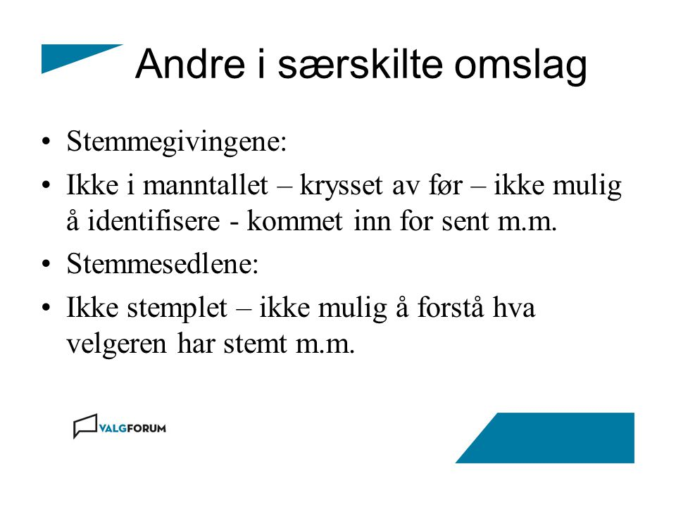 Fylkesvalgstyret Oslo – eget fylke – fylkesmannen.