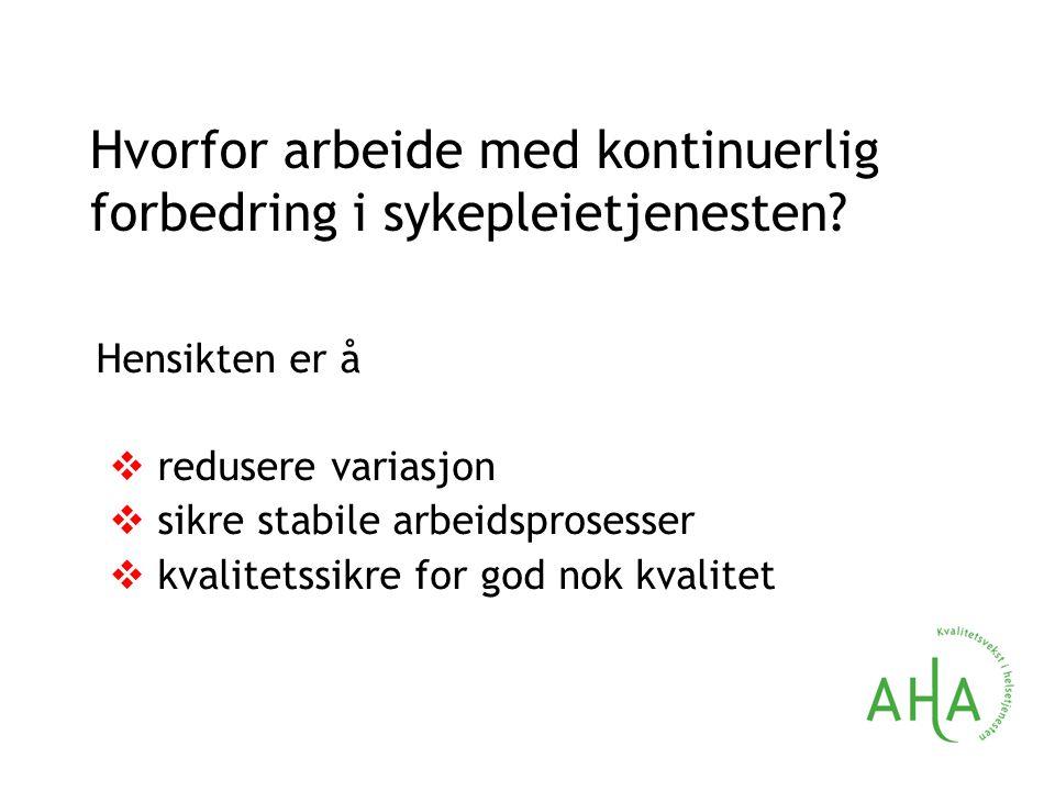 Helse-Norge har fokus på  læringsperspektivet  hva gikk bra.
