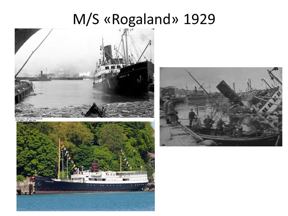 M/S «Rogaland» 1929