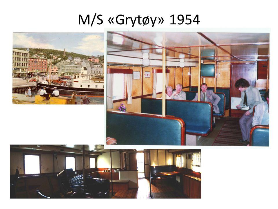 M/S «Grytøy» 1954