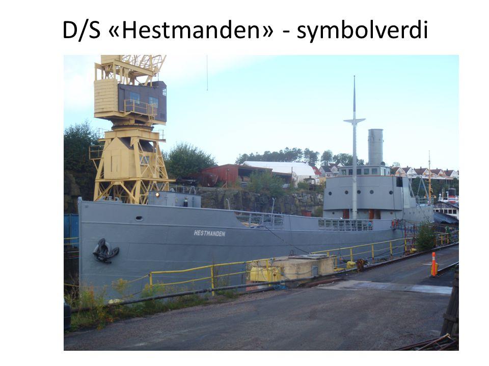 D/S «Hestmanden» - symbolverdi