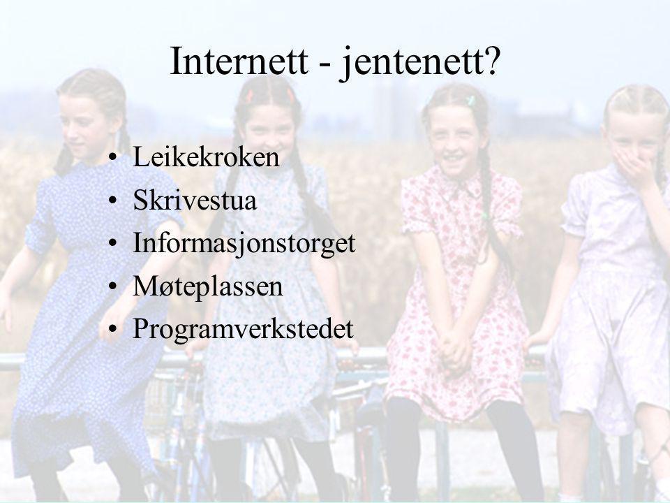 """Noe for jenter? Giæver - Øgrim L97 - Generell del """"Samfunnets ansvar er å se til at lik rett til utdanning blir reell."""" (s.15) """"… alle får likeverdig"""