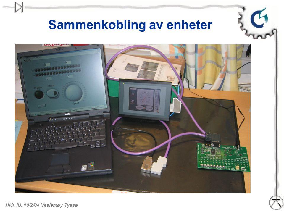 HiO, IU, 10/2/04 Veslemøy Tyssø PCMCIA-kort som DP–master. PCMCIA innstikkskort for PC