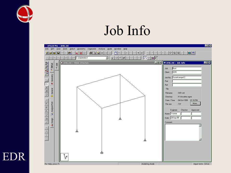 Job Info EDR