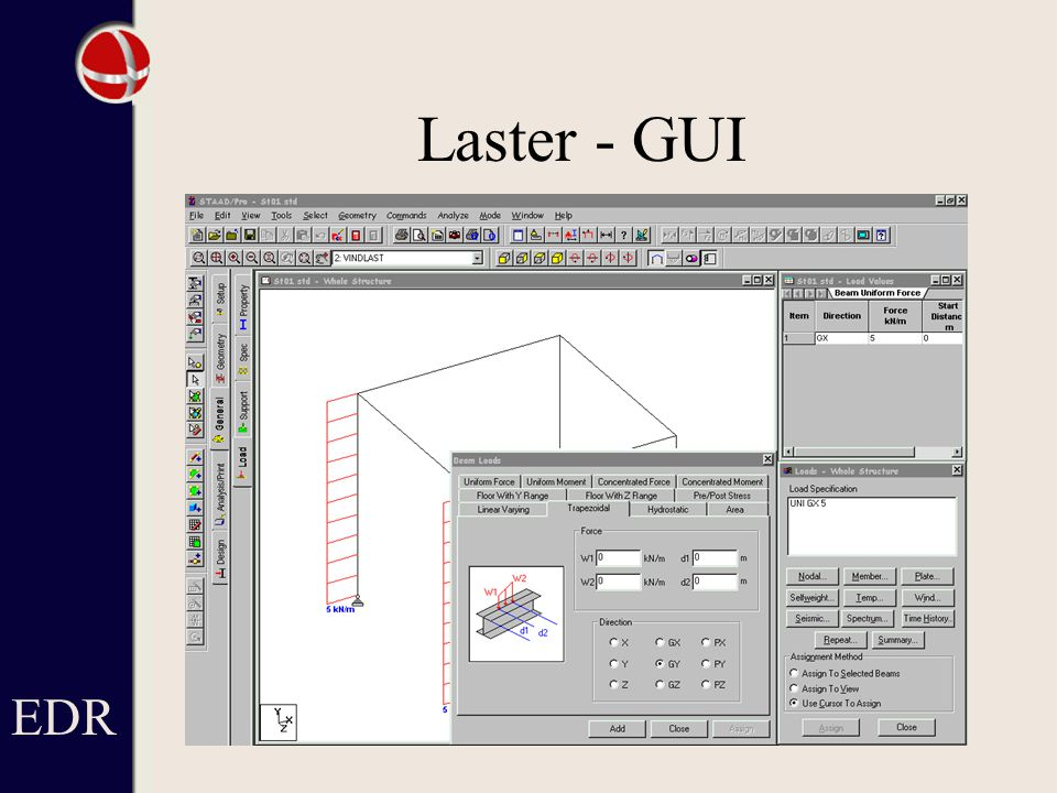 Laster - GUI EDR