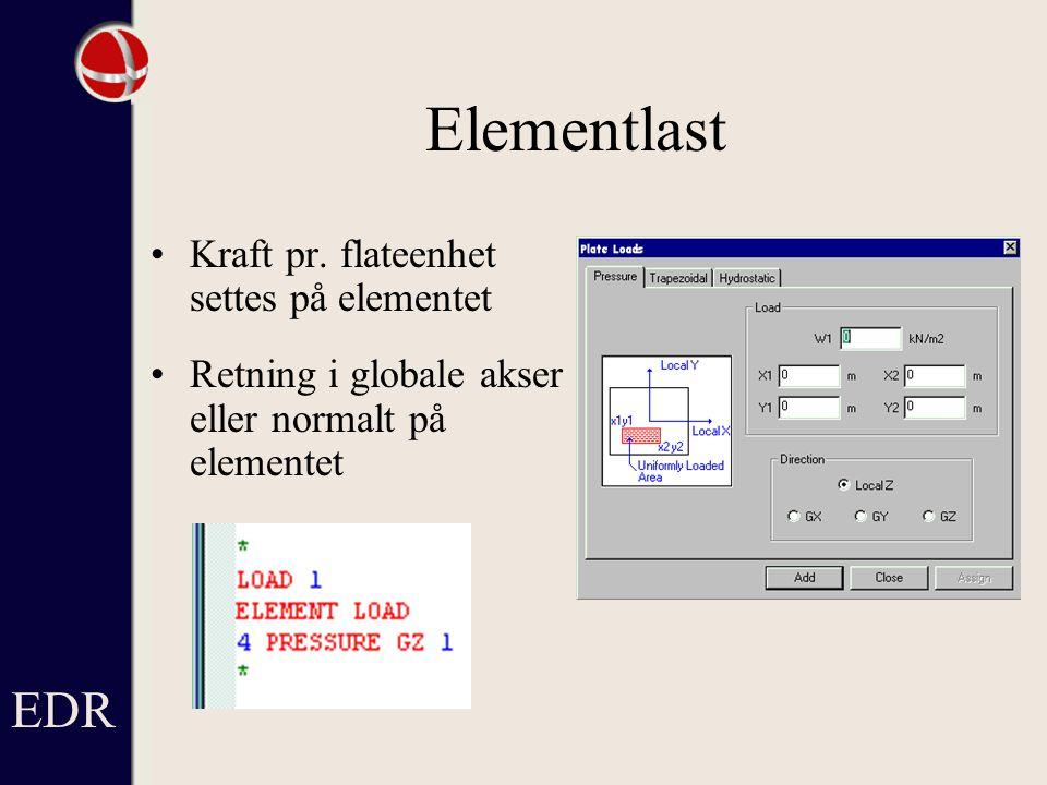 Elementlast Kraft pr.