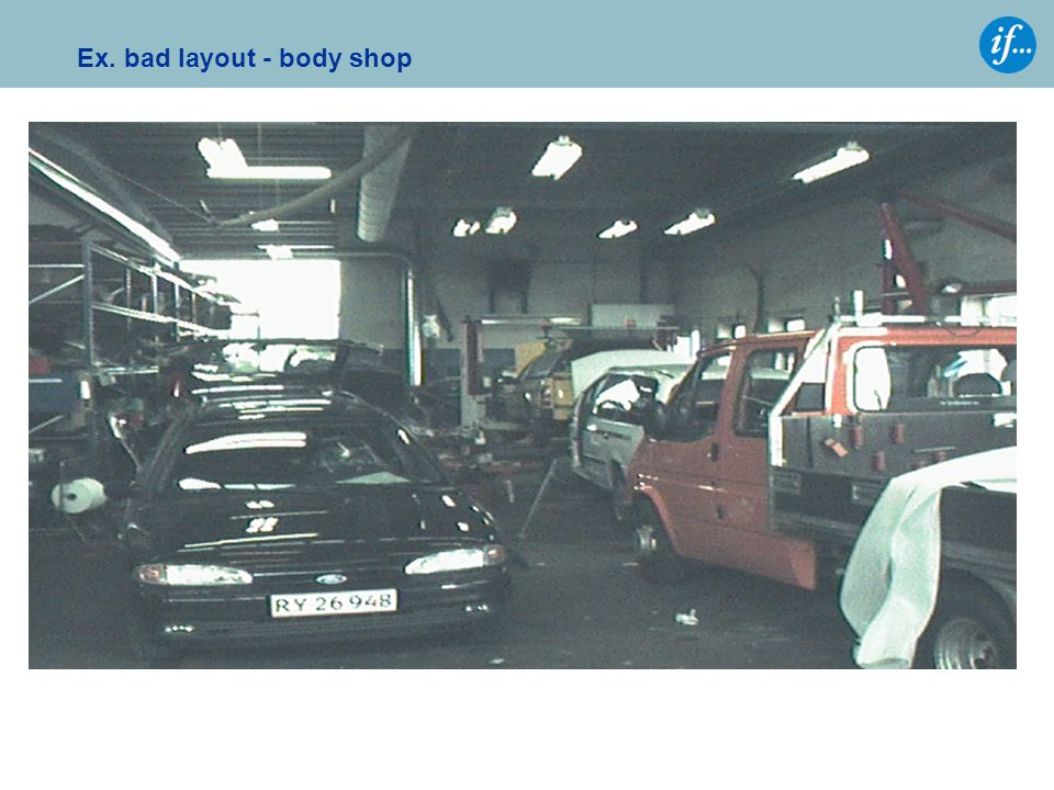 Ex. bad layout - body shop