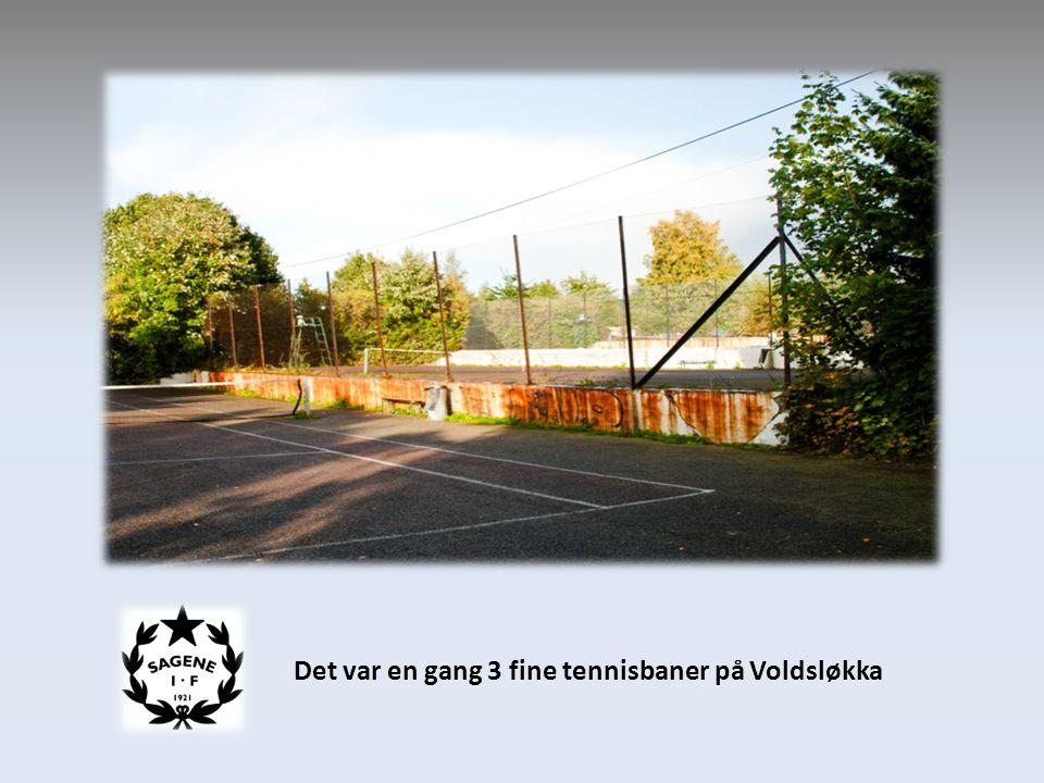 Det var en gang 3 fine tennisbaner på Voldsløkka