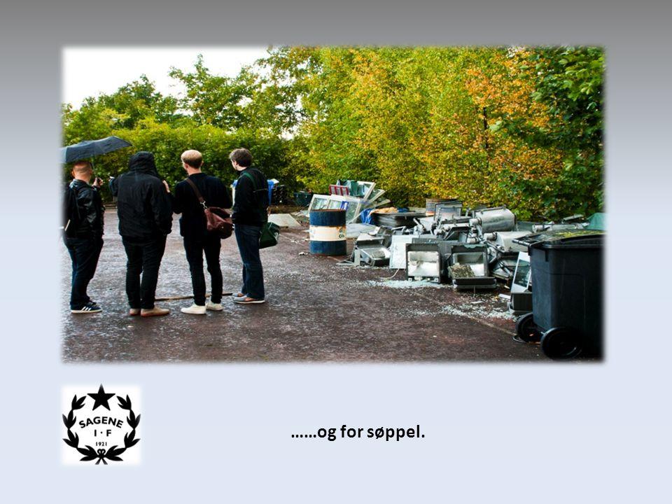 ……og for søppel.